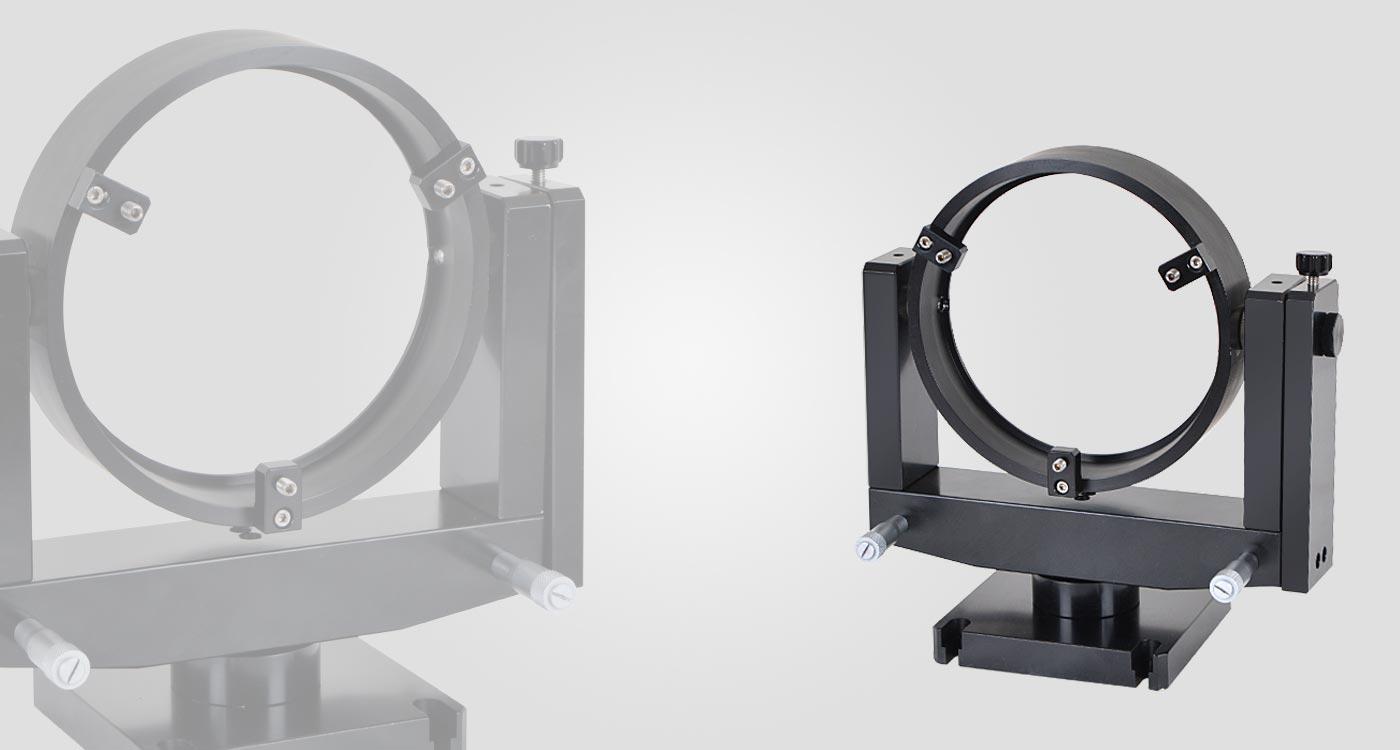 Gimbal Mirror Mounts For Large Optics