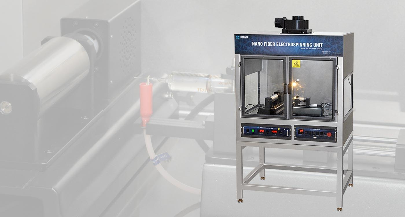 Nano Fiber Electrospinning Unit Base Model