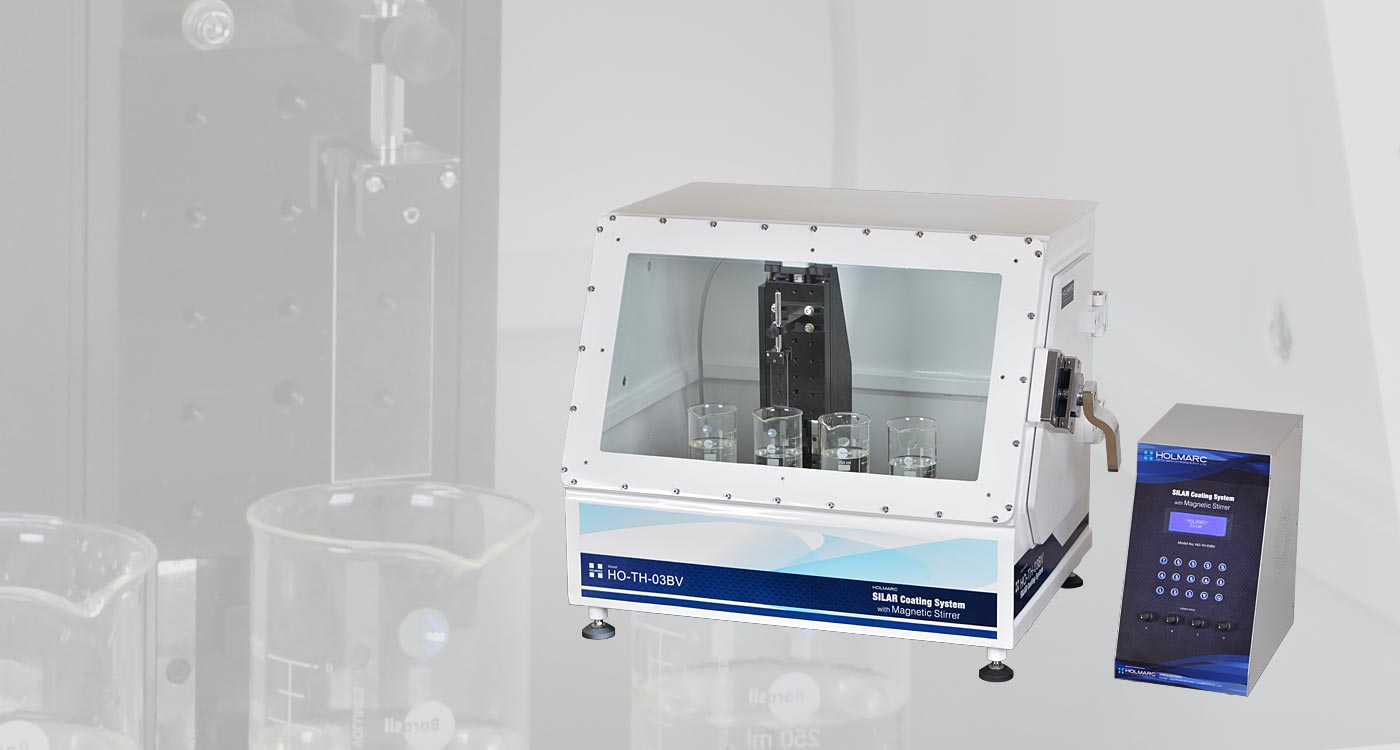 Silar Coating System With Magnetic Stirrer And Air Tight