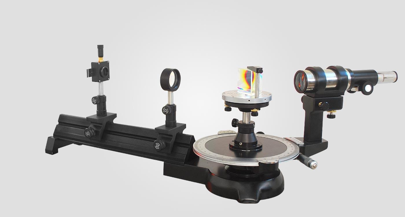spectrometer goniometer rail based