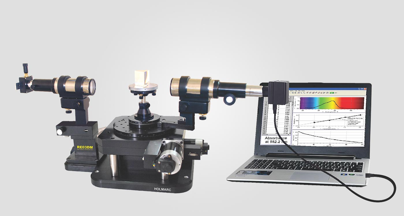 Spectrometer Goniometer Advanced Researcher Version
